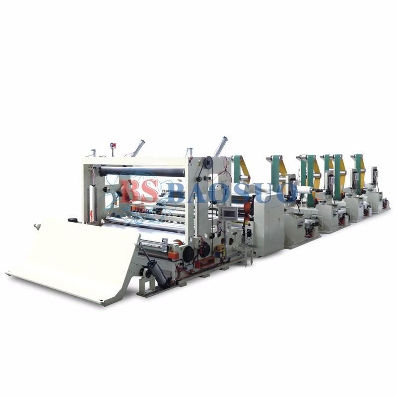 1000m/min Automatic High Speed Jumbo Roll Slitting Rewinder