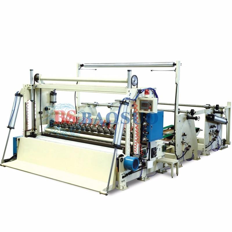 400m/min Automatic Jumbo Roll Sliting Rewinder
