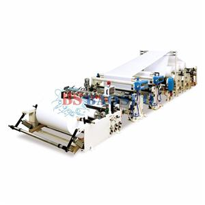 Automatic Apply Cream Jumbo Roll Slitting Rewinder