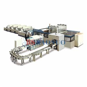 Машина для производства кухонных полотенец без остановок в рулонах 450 м / мин