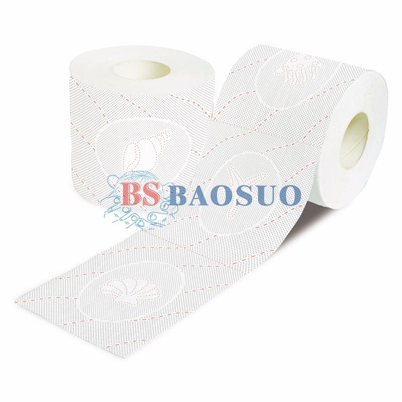 Machine à papier essuie-tout