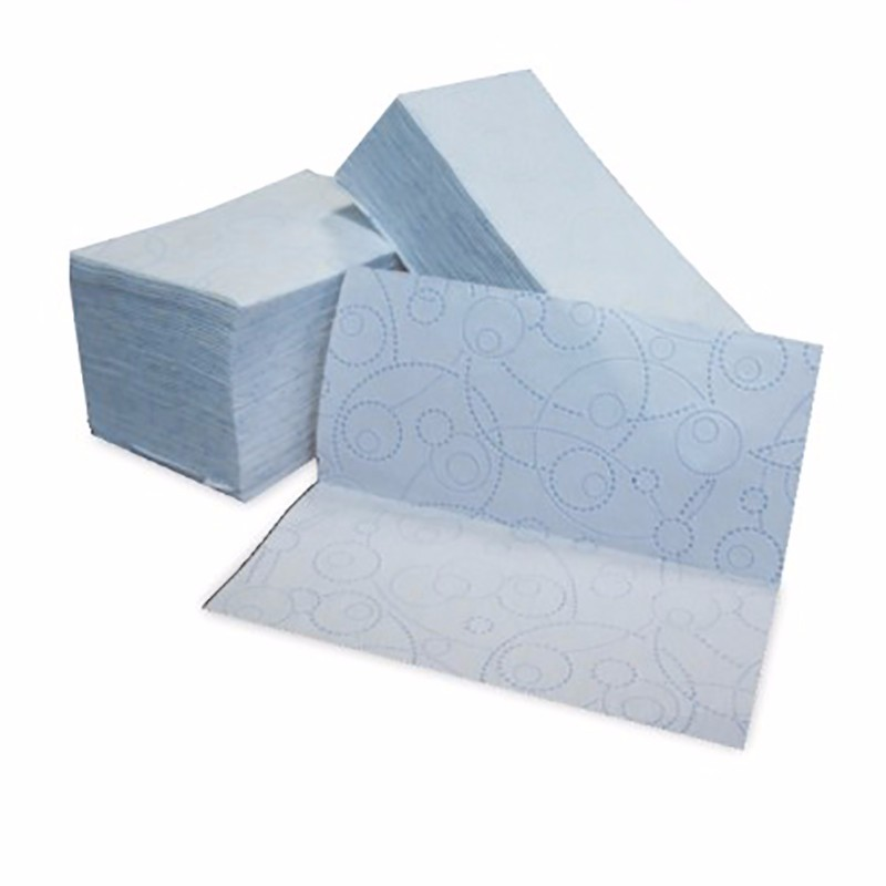 Lamination hand towel folder