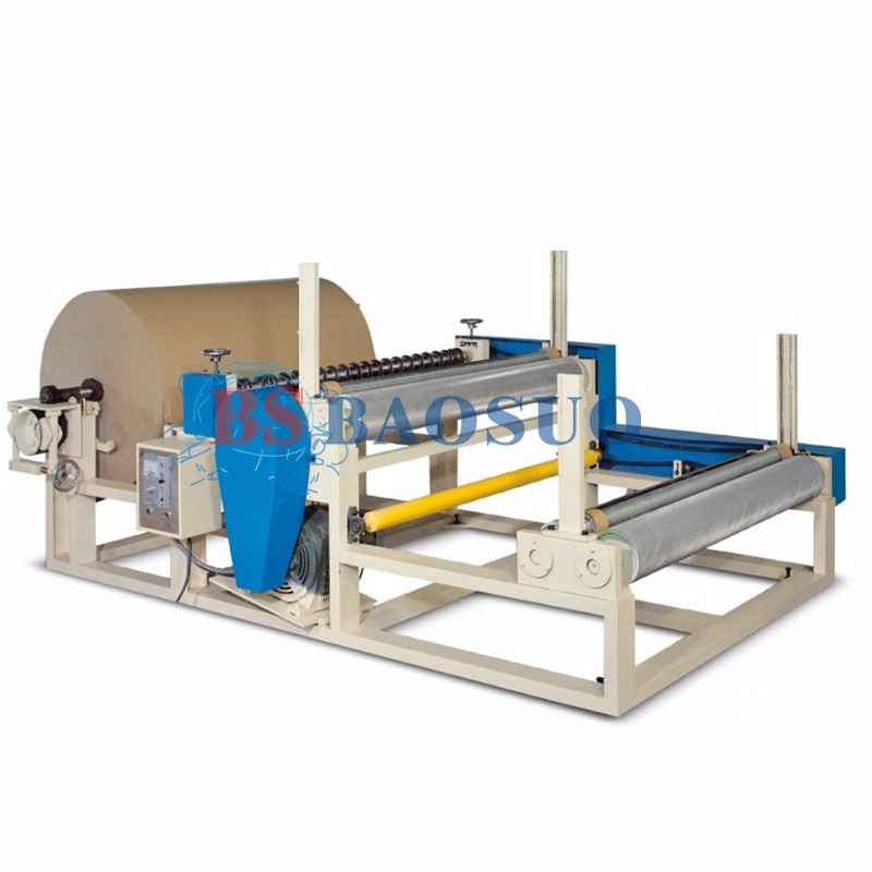 Pneumatic Kraft Paper Slitting Rewinder