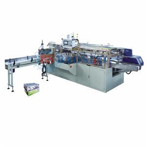 Machine à emballer automatique de boîte de mouchoirs