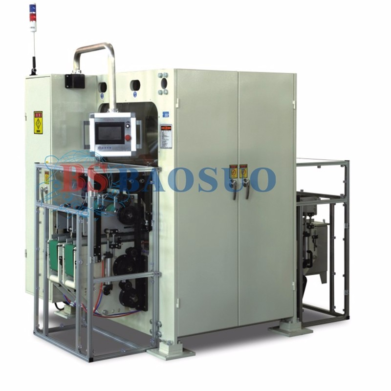 China Facial Tissue 2 Line Log Saw