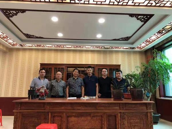 Hebei Huabang et Baosuo Enterprise ont signé la machine à papier BaoTuo