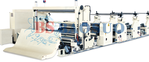 Speed Jumbo Roll Slitting Rewinder