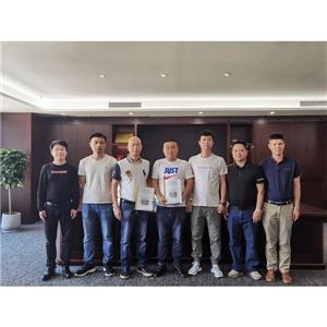 Dezhou Shenggang Paper and Baosuo Enterprise Group signed two Baotuo paper machines in cooperation