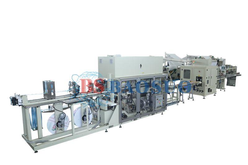 綿ティッシュ生産ライン