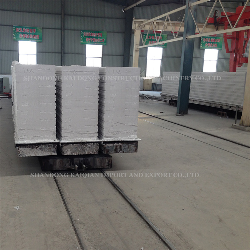 Green Building Material Autoclave Light Weight Sand Wall