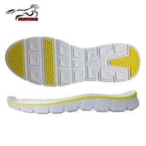 Mustang bright color custom soft flexible EVA shoe outsole eva sole