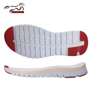 Mustang new color eva sole running outsole design for shoe making