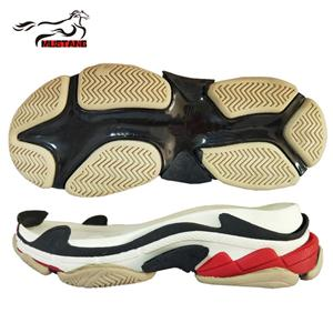 2018 ins super fire new sole south korean version of loose cake thick bottom eva phylon sole colorful sports casual student shoe