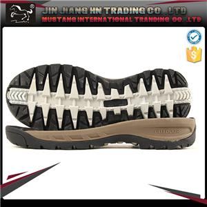 Hiking shoes outsole