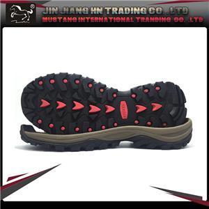Trekking shoe soles