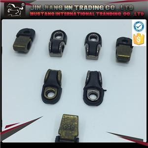 Metal shoe buckle parts