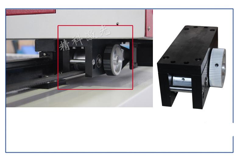 máquina de corte a laser de cristal acrílico CO2