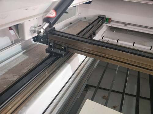 two laser head CO2 laser cutter