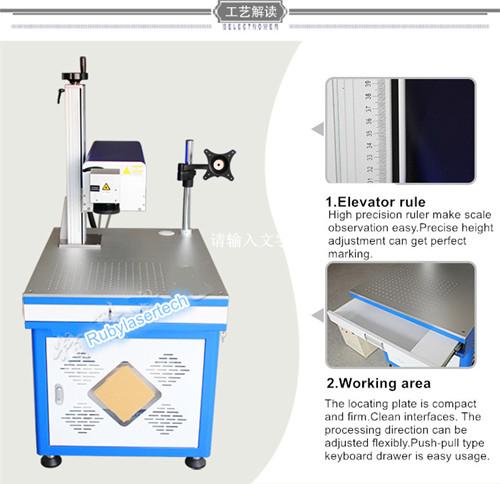 marqueur laser UV au silicium