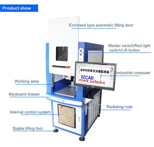 colorful metal fiber marking equipment