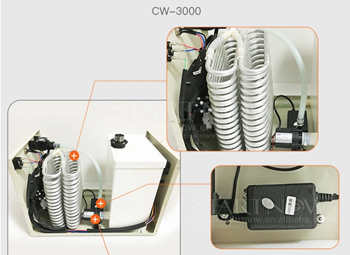 CW3000 water cooling chiller