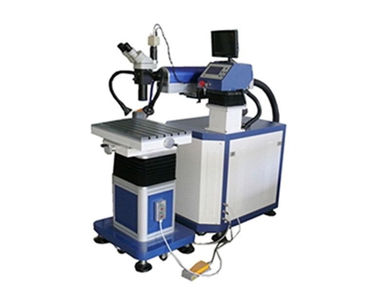 200watt CCD Camra Two Head YAG Laser Welding Equipment