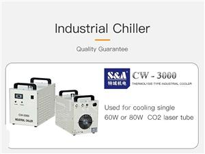 Engraving Type SA CW3000 Water Cooling Chiller
