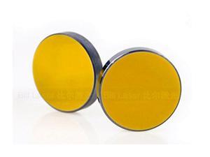 Si 3 mm de espesor 25 mm de diámetro espejo reflectante