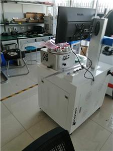 Mesin penanda laser gentian UV 5W yang ditempah oleh pelanggan Switzerland