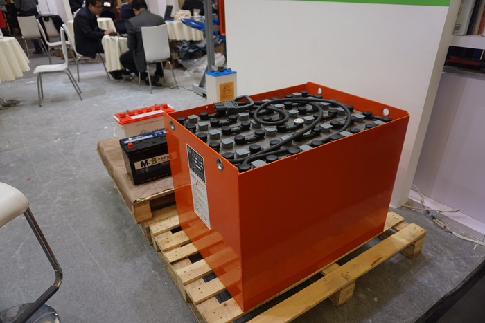 Yangtze forklifts batteries showed up in the 2018 CeMAT ASIA