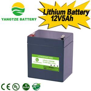 12V 5Ah Lithium Battery