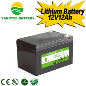 12V 12Ah Lithium Battery