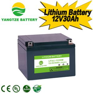 12V 30Ah Lithium Battery