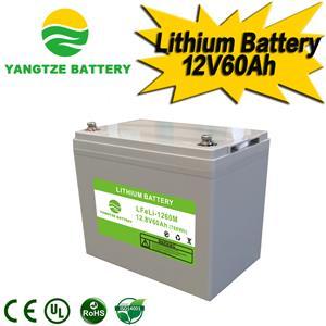 12V 60Ah Lithium Battery