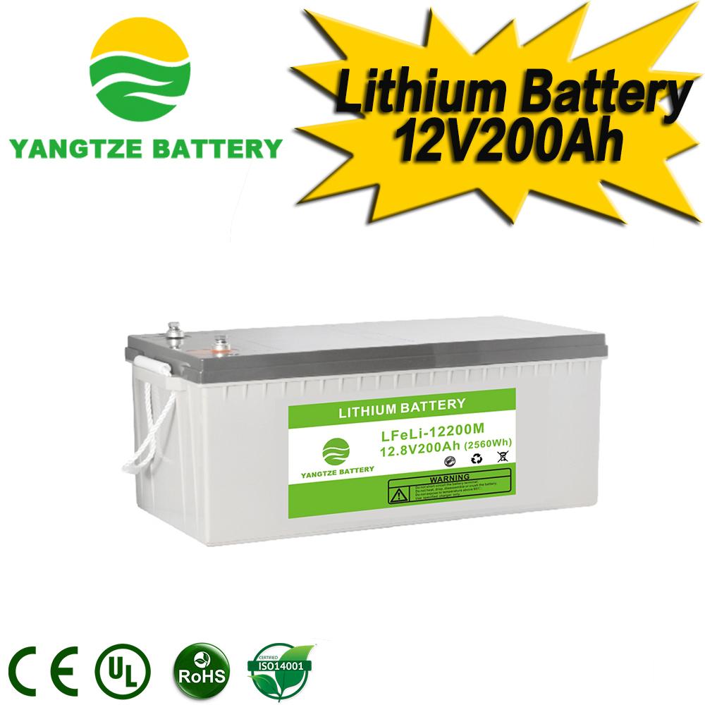 12V 200Ah Lithium Battery Manufacturers, 12V 200Ah Lithium Battery Factory, Supply 12V 200Ah Lithium Battery