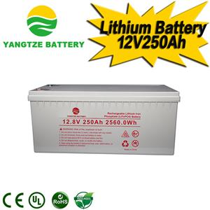 12V 250Ah Lithium Battery