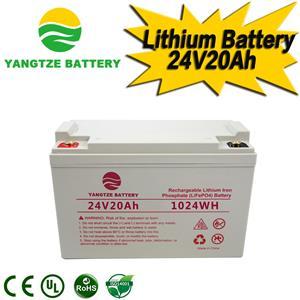 24V 20Ah Lithium Battery