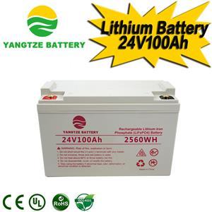 24V 100Ah Lithium Battery