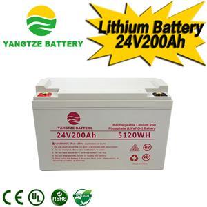 24V 200Ah Lithium Battery