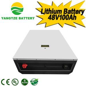 48V 100Ah Lithium Battery-Wall-mounted