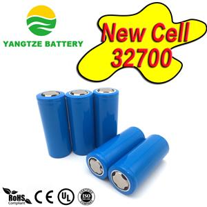 32700 cylindrical lifepo4 celll