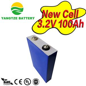 3.2V 100Ah prismatic lifepo4 cell