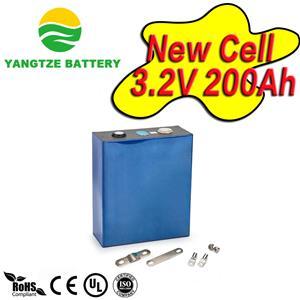 3.2V 200Ah prismatic lifepo4 celll