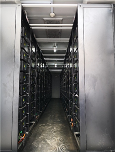 China 1.5MWH Factory Energy Storage System