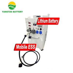 Mobile Energy Storage System With EV Charging Gun & Inverter