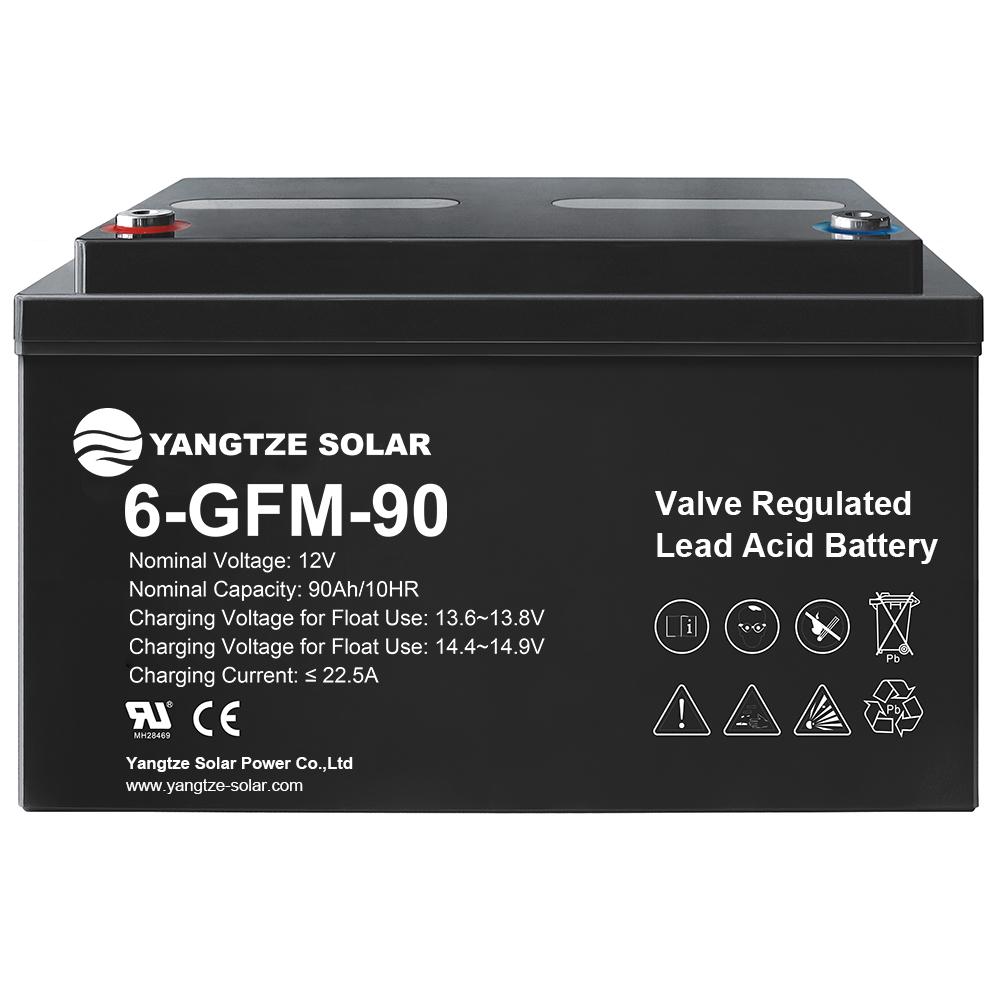 12V 90Ah Lead Acid Battery Manufacturers, 12V 90Ah Lead Acid Battery Factory, Supply 12V 90Ah Lead Acid Battery