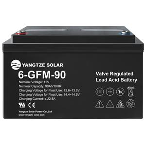 12V 90Ah Lead Acid Battery