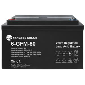 12V 80Ah Lead Acid Battery