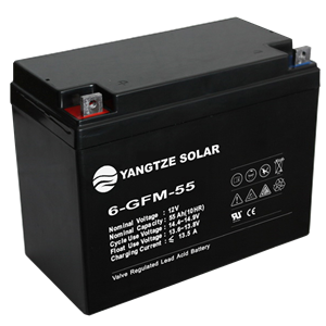12V 55Ah Lead Acid Battery