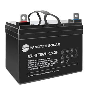 12V 33Ah Lead Acid Battery
